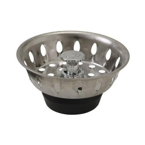 PLUMB SHOP DIV BRASSCRAFT Chrome Basket Sink Strainer