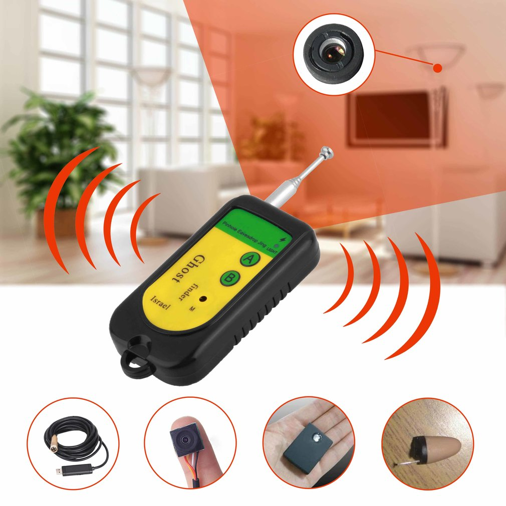 Signal RF Wireless Detector Tracer Camera Wireless Device Finder Detector