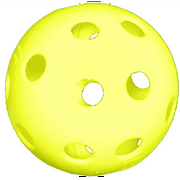 "Champro 12"" Yellow Poly Ball Softballs (Dozen) by Champro"