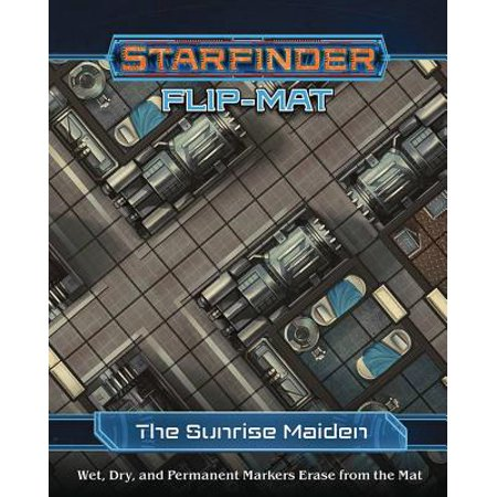Starfinder Flip-Mat Starship: The Sunrise Maiden