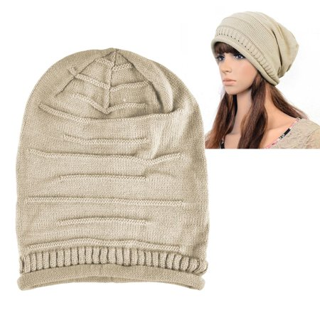 adb6a69edd08b0 Zodaca Womens Beanie Hat slouchy Beanie Crochet Knit Soft Hat Cap Winter  Warm Ladies Girls Mens ...