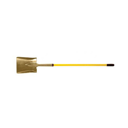 Ampco Safety Tools Square Point Shovels - 5'1'' square point shovelwith fiberglass handle