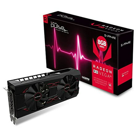 Sapphire Pulse Radeon RX Vega 56 Graphic Card - 1.21 GHz Core - 1.51 GHz Boost Clock - 8 GB HBM2 - Triple Slot Space Required (Best Side Dish For Veg Pulao)