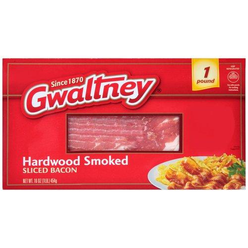 Gwaltney Hardwood Smoked Sliced Bacon 16 oz