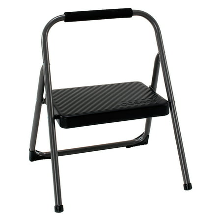 Cosco 1 Step Metal Folding Step Stool Walmart Com