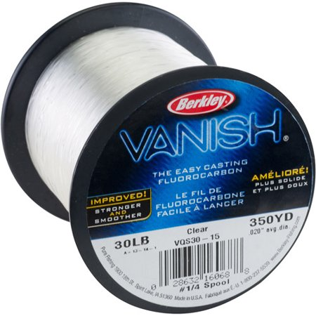 Berkley Vanish Fishing Line  350 Yd 1 4 Lb Spool