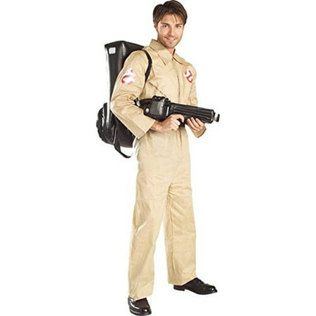 Ghostbusters Peter Venkman Adult Halloween Costume (Inexpensive Homemade Halloween Costumes For Adults)