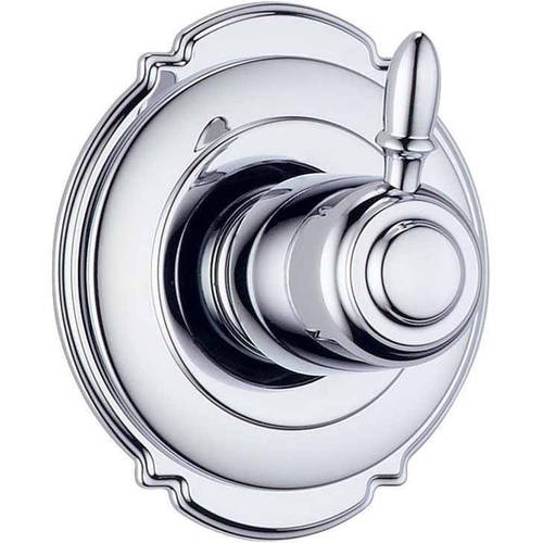 Delta Victorian Three Function Diverter Valve Trim, Available in Various Colors
