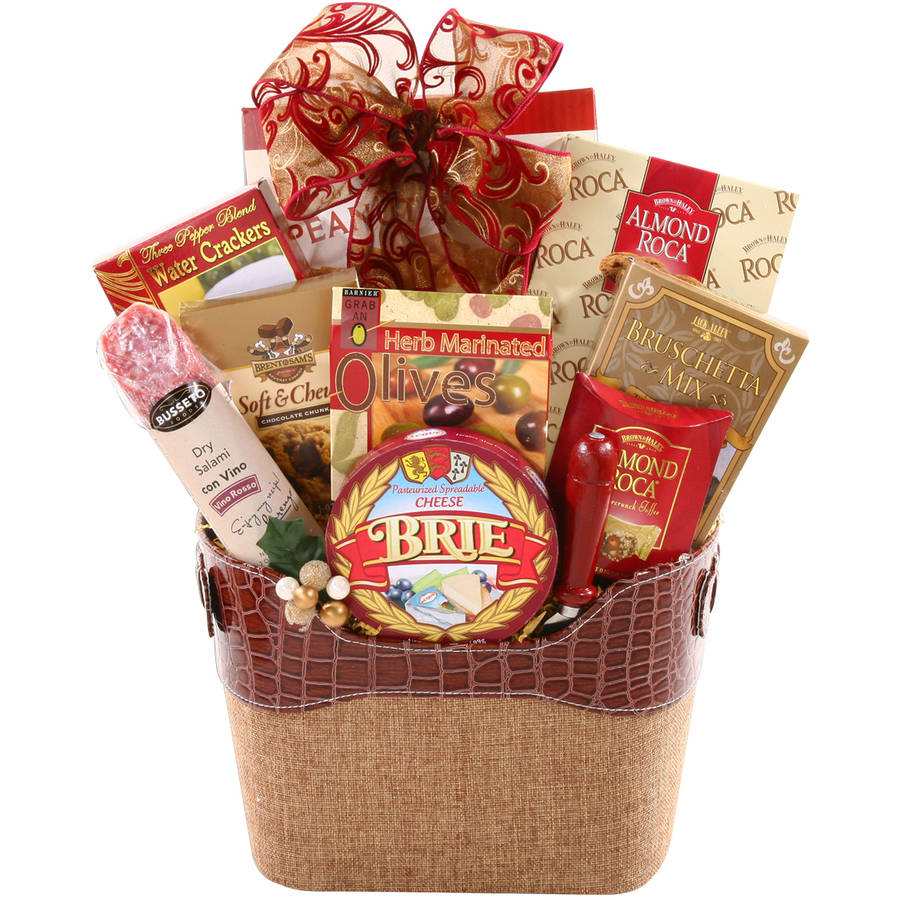 Alder Creek Connoisseur Gift Basket, 9 pc