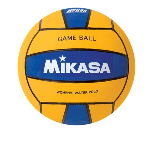 Women's Water Polo Ball by Mikasa Sports, Yellow Blue Premier Series by