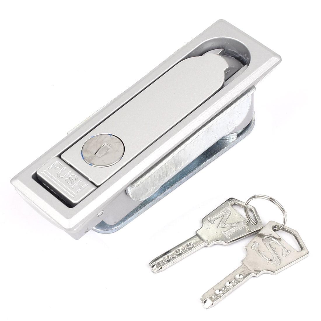 Unique Bargains 11cm Long Rectangle Shaped Panel Lock for Machine File Cabinet Door