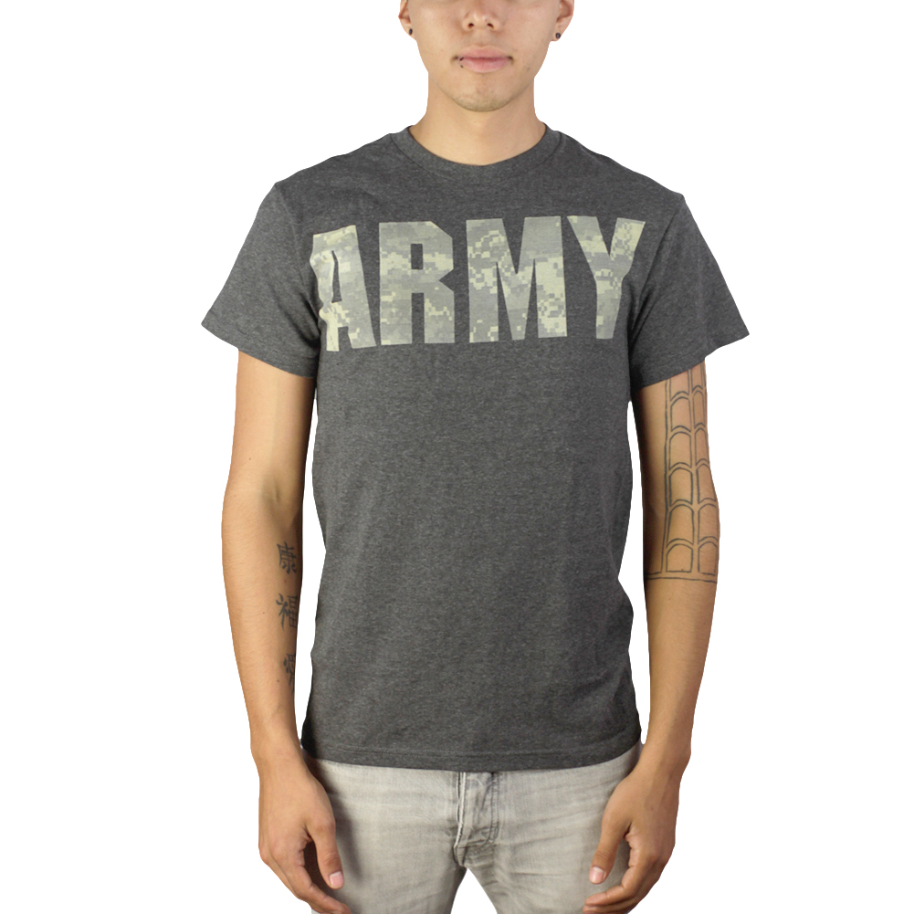 US Army Digital Desert Gray Graphic T-shirt NEW Sizes S-2XL