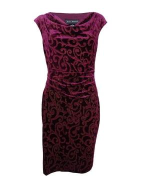 92da862e041d Free shipping. Product Image Jessica Howard Women's Cowl-Neck Velvet Dress