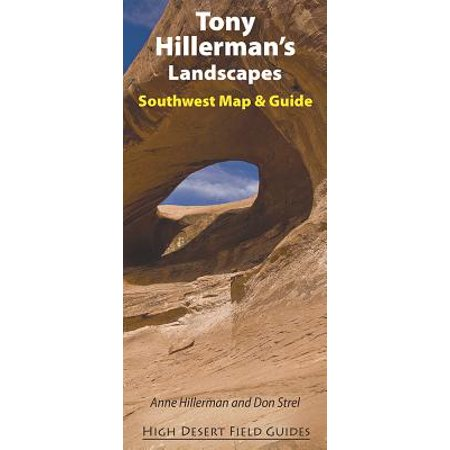Southwest Florida Map - Tony Hillerman's Landscapes : Southwest Map and Guide