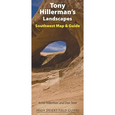 Tony Hillerman's Landscapes : Southwest Map and