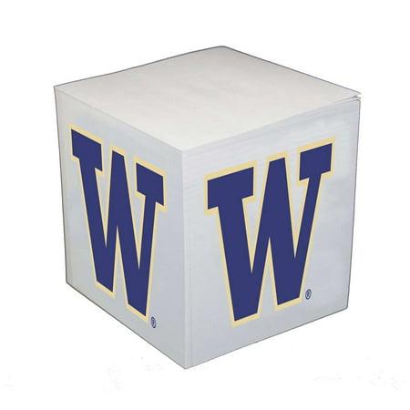 - Washington Huskies Sticky Note Memo Cube - 550 Sheets