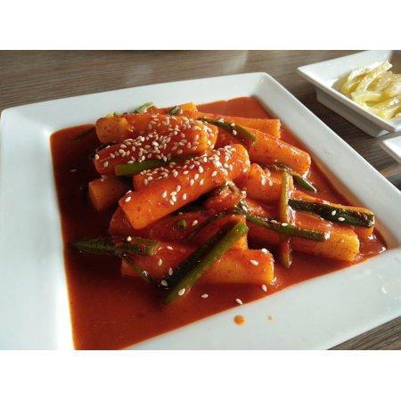 Canvas Print Tok Bok Kee Food Korean Stretched Canvas 10 x