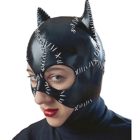 Catwoman Mask Latex Womens R12442/51 - Catwoman Mask