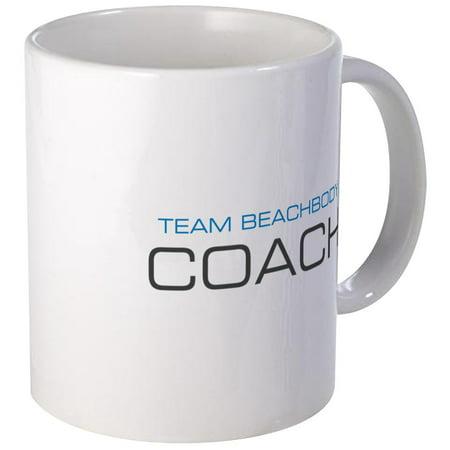 Cafepress   Centered Team Beachbody Coach Logo Blue Top Mugs   Unique Coffee Mug  Coffee Cup Cafepress