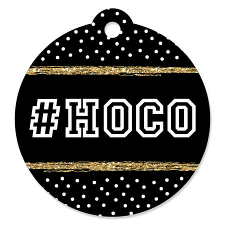 (HOCO Dance - Homecoming Favor Gift Tags (Set of 20))