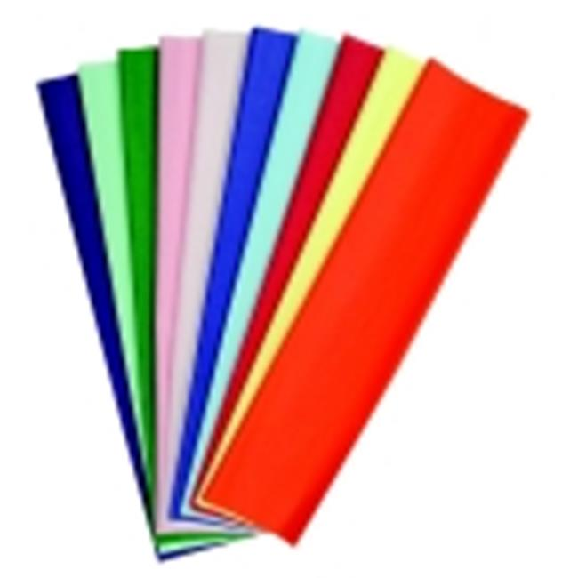 Kolorfast Non-Bleeding Craft Tissue Paper - Assorted Color, Pack 480