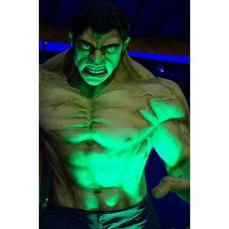 LAMINATED POSTER Film Hulk Figure Poster Print 24 x 36