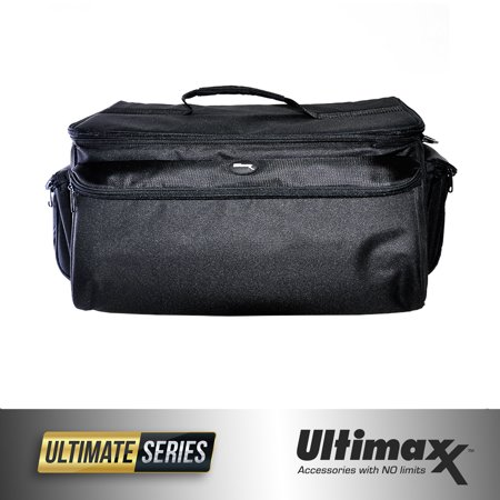 - Extra Large Soft Padded Camcorder Equipment Bag Case by ULTIMAXX