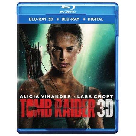 Tomb Raider (Blu-ray 3D + Blu-ray + Digital - Tomb Raider Costumes