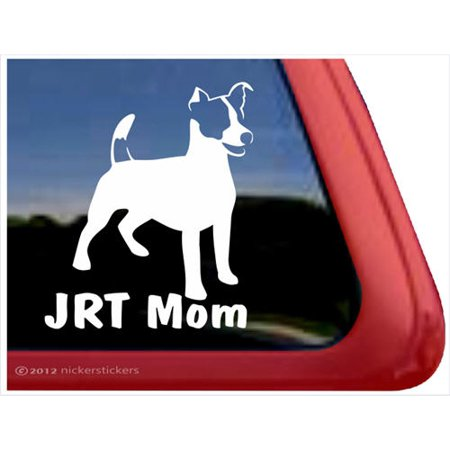 JRT Mom | High Quality Vinyl Jack Russell Terrier Dog Window - Rydell High