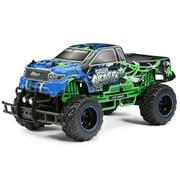 New Bright RC 1:10 Scale Speedy Graffiti Radio Control Truck - Green