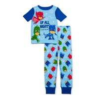 PJ Masks Toddler Boy 2 Piece Cotton Sleeper
