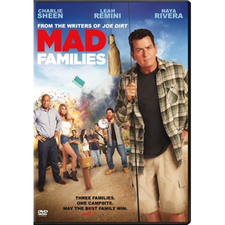 Mad Families (2017) (DVD) (Best Charlie Sheen Lines)
