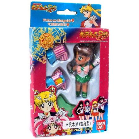 Sailor Moon Pachi Pachi Cute Sailor Jupiter Figure [Makoto Kino]