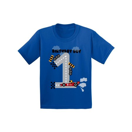 Awkward Styles Birthday Boy Race Car Infant Shirt Gifts For 1 Year Old Baby Party Boys 1st Tshirt First