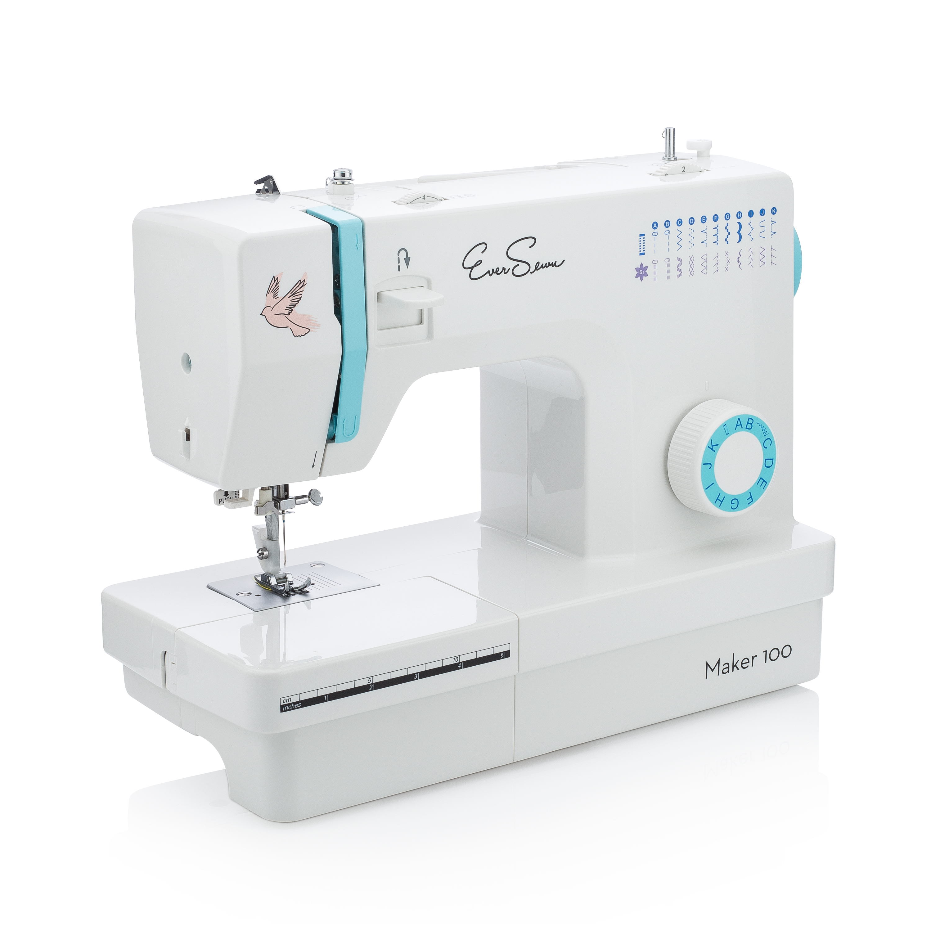 EverSewn Maker100 21-Stitch Robust Sewing Machine