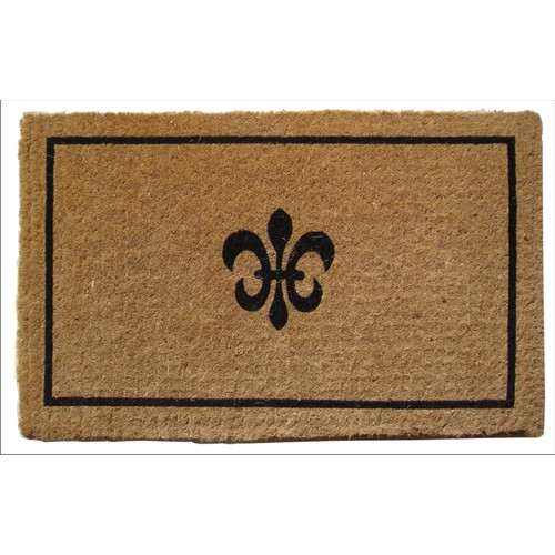 Entryways Handmade Fleur Dy Lys Doormat