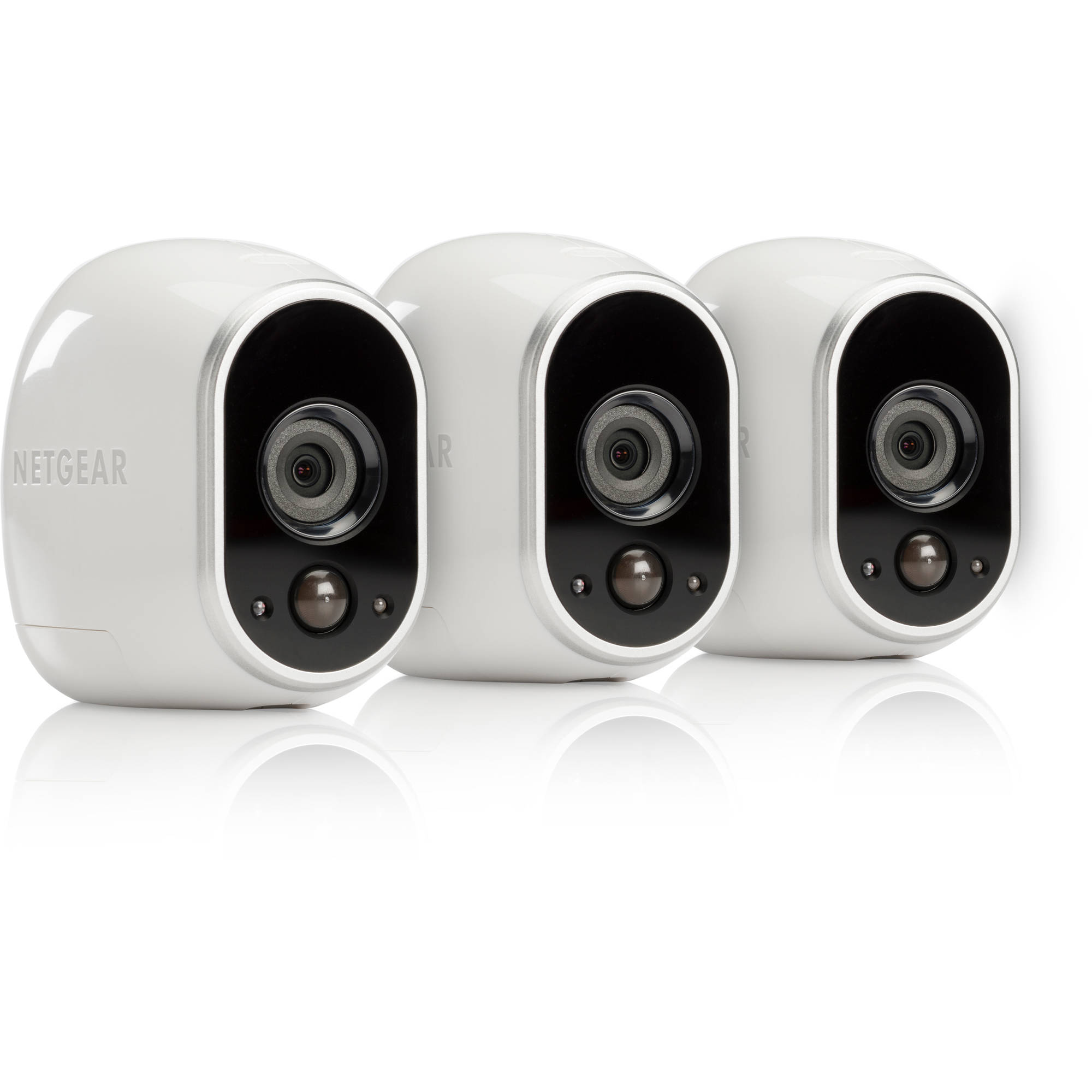 Arlo HD Security Camera 3 HD Cameras Security System 100 Wire