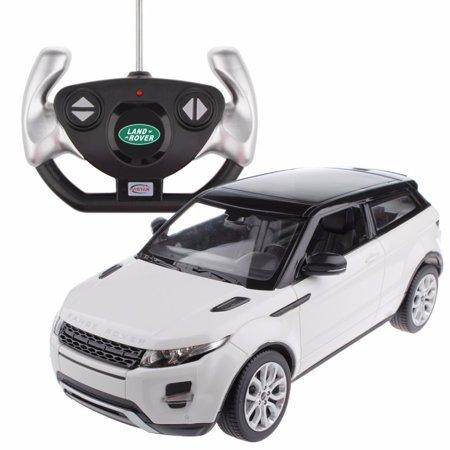 1 14 scale land rover range rover evoque radio remote control model car r c rtr white. Black Bedroom Furniture Sets. Home Design Ideas