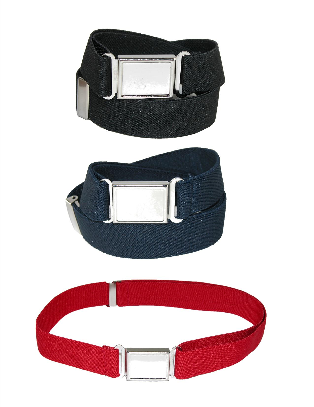 Adjustable Elastic Belt with Magnet Belt Buckle Jackster Boys Belt