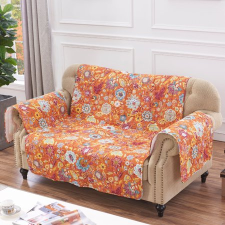 Admirable Global Trends Amanda Spice Quilted Furniture Cover Protector Machost Co Dining Chair Design Ideas Machostcouk