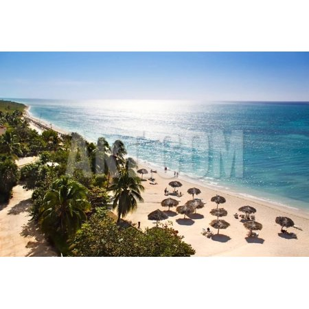 Sunrise Beautiful Tropical Beach at the Caribbean Island with White Sands and Stunning Turquoise Wa Print Wall Art By Aleksandar (Homes For Sale In City Beach Wa)