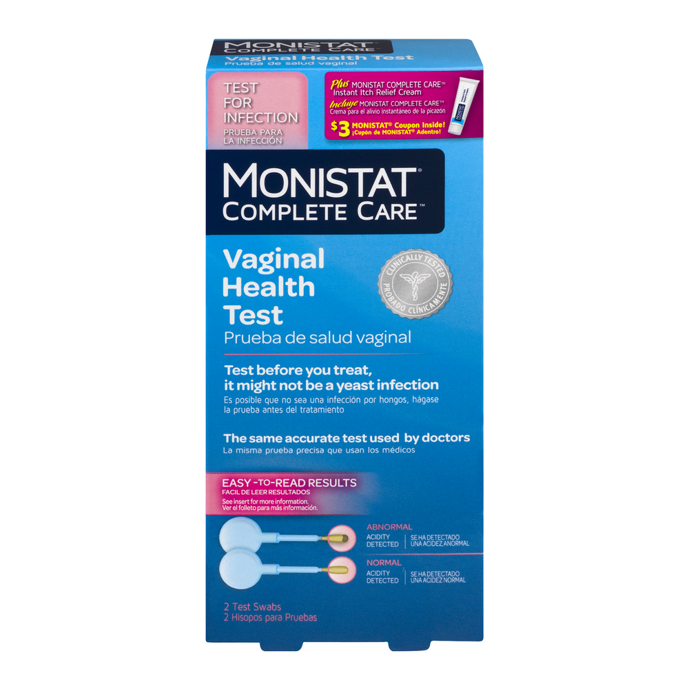 monistat complete care vaginal health test kit, 3 pc - walmart, Human Body