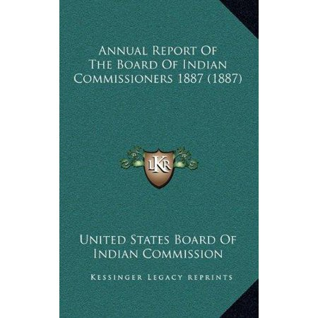 Annual Report of the Board of Indian Commissioners 1887 (1887) - image 1 de 1