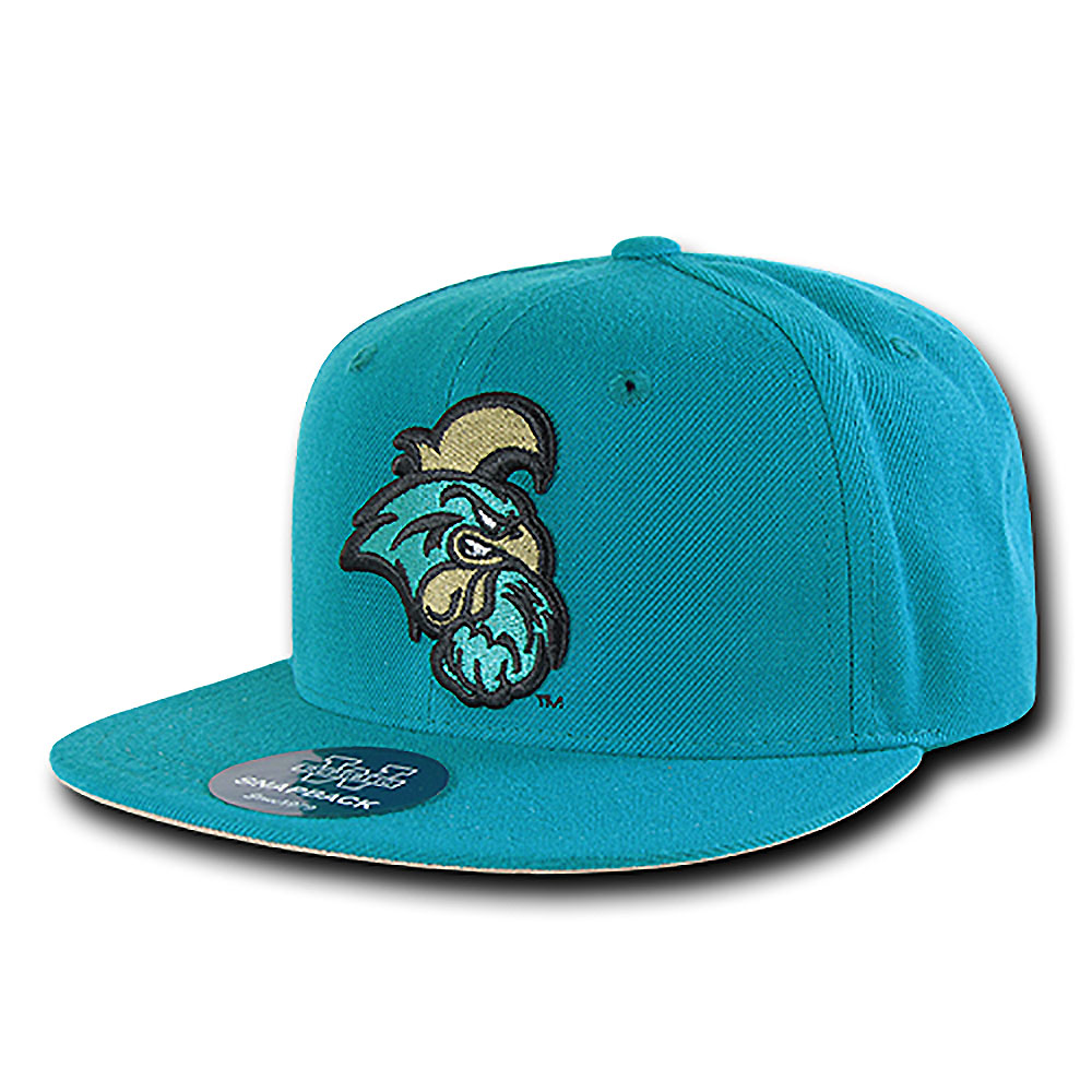 Coastal Carolina Chanticleers Freshman Fitted Hat (Teal)