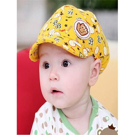 Baby Boy Girl Kid Toddler Infant Hat Peaked Baseball Beret Cap (Children's Baseball Caps)