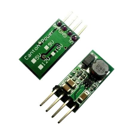 Mini DC-DC 3.3V 3.7V 4.5V 5V to 12V Step Up Boost Converter Module for Smart Home Auto Adjust Smart Converter
