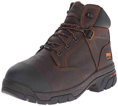 Timberland PRO Men's Helix Met Guard Work Boot,Brown,8.5 M US by Timberland PRO