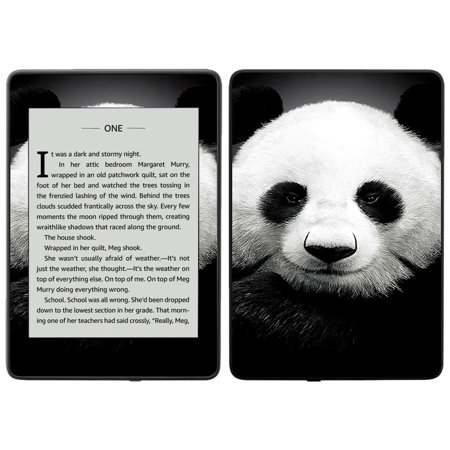MightySkins Skin for Amazon Kindle Paperwhite 2018 (waterproof model) - Panda | Protective, Durable, and Unique Vinyl Decal wrap cover | Easy To Apply, Remove| Made in the USA