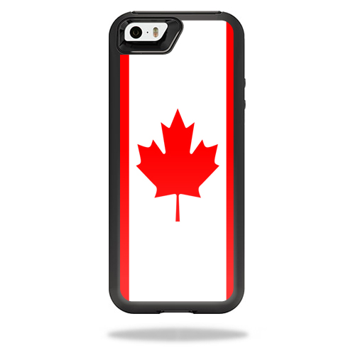 MightySkins Protective Vinyl Skin Decal for OtterBox Resurgence iPhone 5/5S Power Case cover wrap sticker skins Canadian Flag