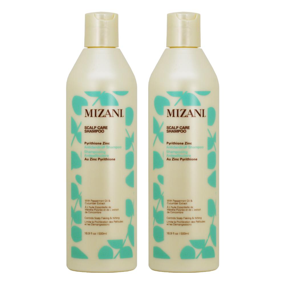 "Mizani Scalp Care Shampoo 16.9oz ""Pack of 2"""